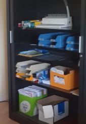Lot de matériel de bureau