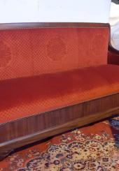 Canapé Restauration en acajou