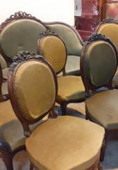 Mobilier de salon de style Louis XV