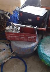 Pompe à épreuve pour plancher chauffant ROTHENBERGER RP50 - ancien modèle