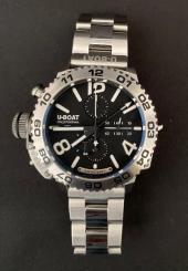 Montre-bracelet d'homme chrono SS U-BOAT DOPPOTIEMPO Italo Fontana ref 9016