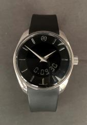 Montre-bracelet d'homme BELL & ROSS Fusion 100S Lunette ronde acier