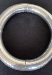 HERMES - Bracelet jonc aimanté, modèle Lima, en argent 925 millièmes