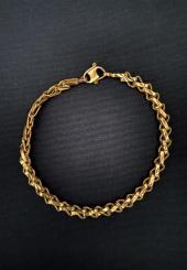 Bracelet en or jaune 22k (916 millièmes) - Poids : 13 g